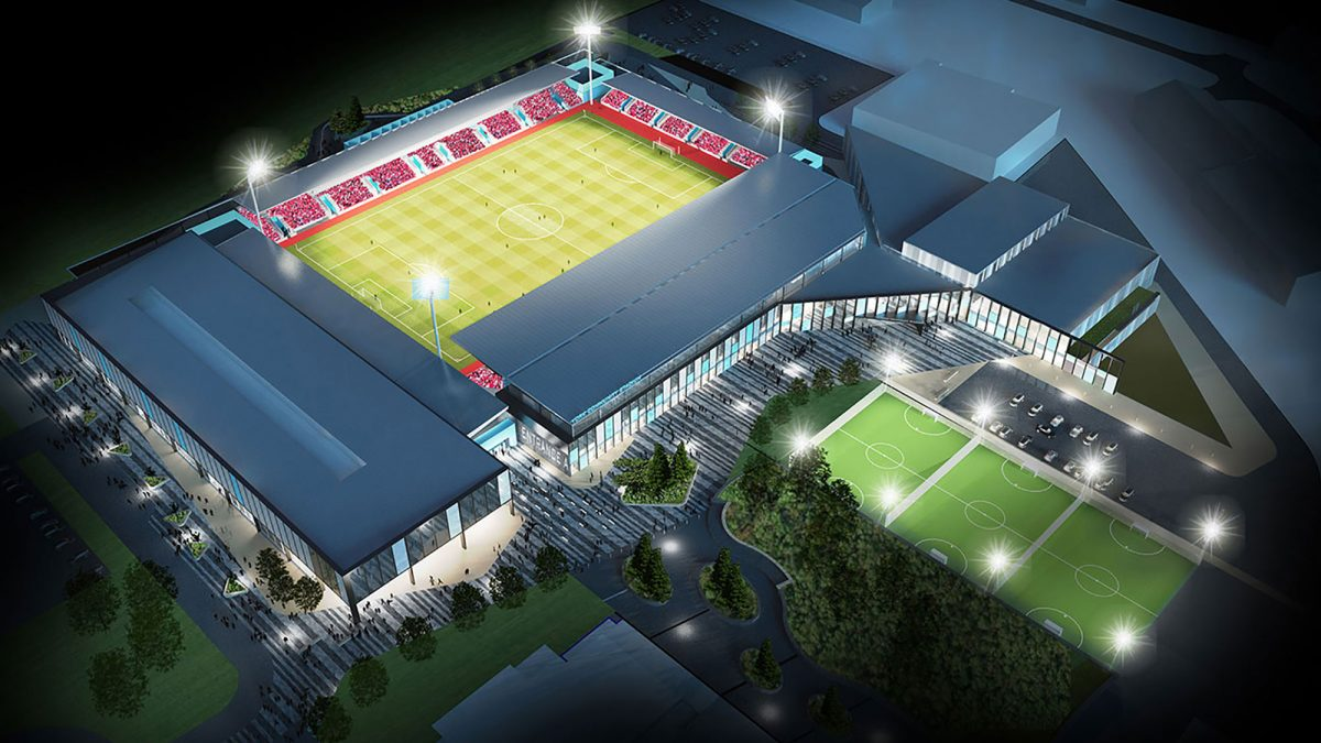 York Community Stadium (IMAGE CREDIT: York City Council)